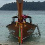 Long tailed fishing boat
