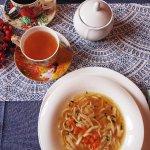 Rosół z gęsiny i herbata Tajemnica Inków