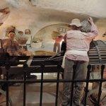 Horizontal wine press
