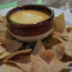 Chips cheese and salsa
