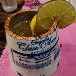 Premium-tequila, fresh lime margarita