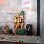 Hanumanji Idol in the temple