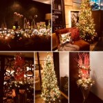 Christmas decoration in our restaurant