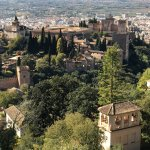 THE HILLS ABOVE THE ALHAMBRA
