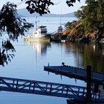 The original marina & dock nowadays