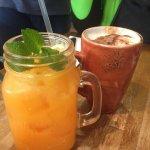 armadillo juice and macchiato