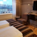 Small double room with queen bed - room #523 - view over Hammerfest