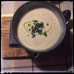 mushroom and cauliflower soup