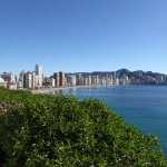 View Of Levante Beach from Placa Del Castell, Benidorm