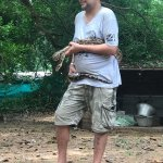 Guide showing the snake
