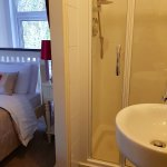 Small ensuite in room 2.