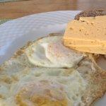 Breakfast eggs mmm