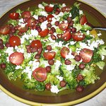 One of Linda's delicious salads