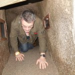 WW1 trenches, tunnel section...