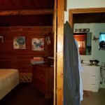 Cabin 2 Bedroom 2 has no windows with 1 full size bed.