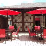 Sundeck and Patio Seating Area