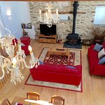 Threshing Barn living room (taken from mezzanine level)