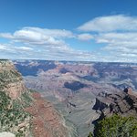 amazing view, my very fist picture of grand canyon
