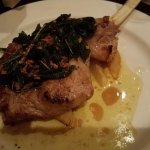 The veal chop at Il Mulino was incredibly flavorful and tender