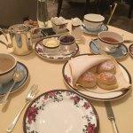 Scones and Wedgwood tea