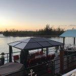 """The """"aquarium"""" private dining table at Sabor"""
