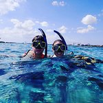 A fun day of snorkeling with Aruba Bob! We saw tons of colorful fish and coral.
