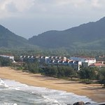 View from Banyan Tree of Anasana and its gorgeous beach and seting