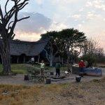 Breakfast at Bomani Tented Lodge