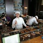 Chef Ping, master of the Tapas Molecular Bar