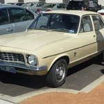 A Mint Holden Torana outside the Mint