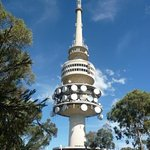 Close up view, Telstra tower