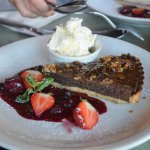 chocolate and nut tart