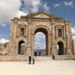 Ruinen von Gerasa Foto