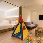 貼心服務: 免費借用兒童特色帳篷 Thoughtful extras: free use of play tent for kids