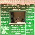 Raneh Falls & Ken Ghariyal Sanctuary Entry/Permit Fees Counter