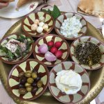 Labneh & cheese platter for 2