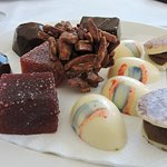 Selection of chocolates and jellies
