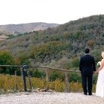 Perfect location for a small Tuscan wedding!  We had THE BEST day!