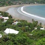 Vista de la Bahia y playa de San Juan del Sur