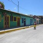 Vista de una calle de San Juan del Sur