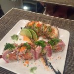 The fantastic Sushi created by the very talented Sushi Chef Luisa