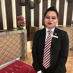 Front Desk. Try her best to accommodate the room choices with a smile