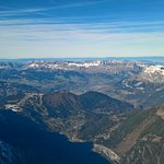 From the top of Agulie du Midi