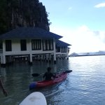 Enjoying kayaking...