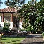 verandah and courtyard