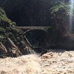 bridge down in gorge