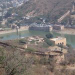View of Amer fort