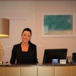 Friendly receptionist :)