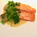 Salmon Filet with greens