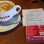great coffee and free map